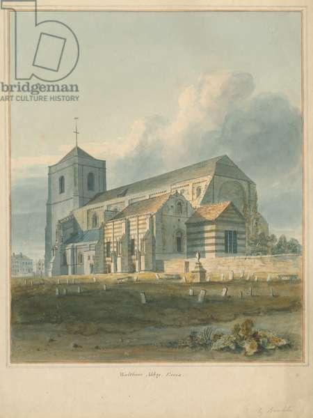 Essex - Waltham Abbey, 1802 (w/c on paper)