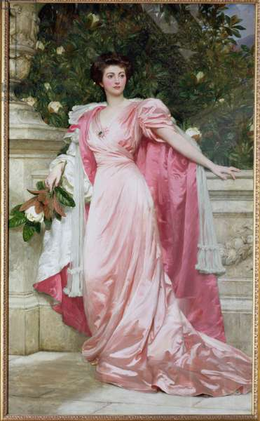 Constance (1876-1953) Duchess of Westminster, 1906 (oil on canvas)