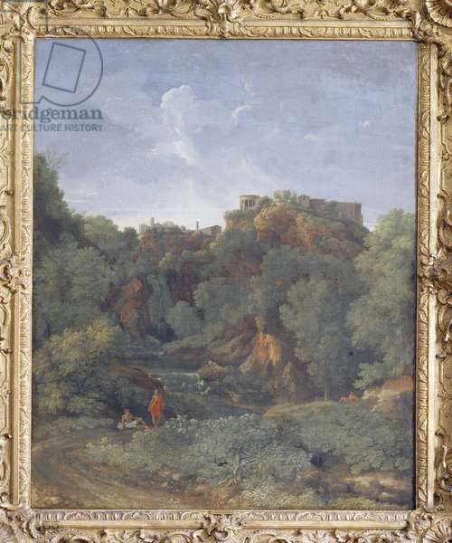 A View of Tivoli (oil on canvas)