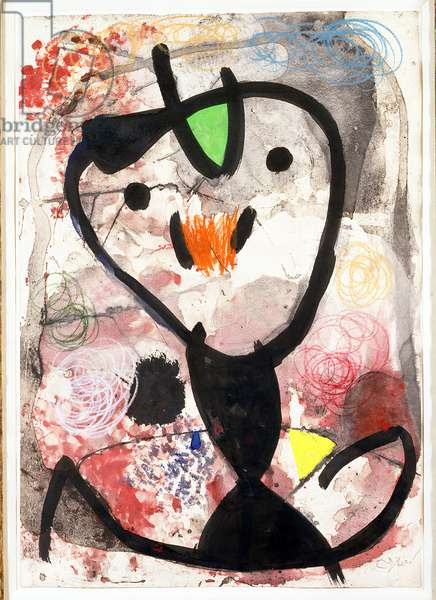 Untitled, 1979 (mixed media on paper)