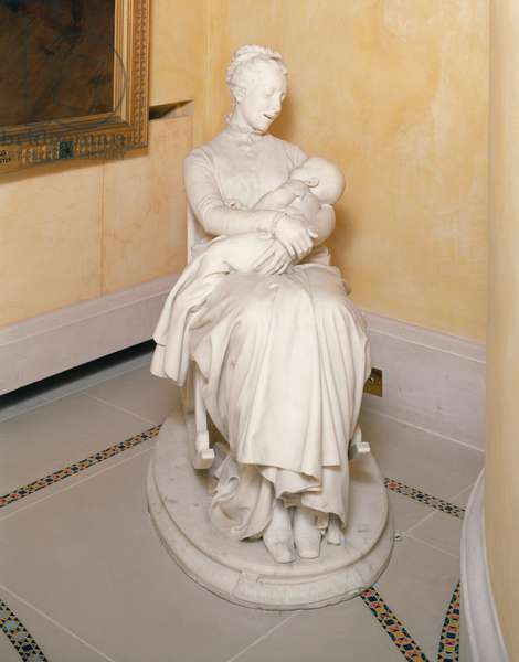 La Berceuse (The Rocking Chair) 1875 (marble)