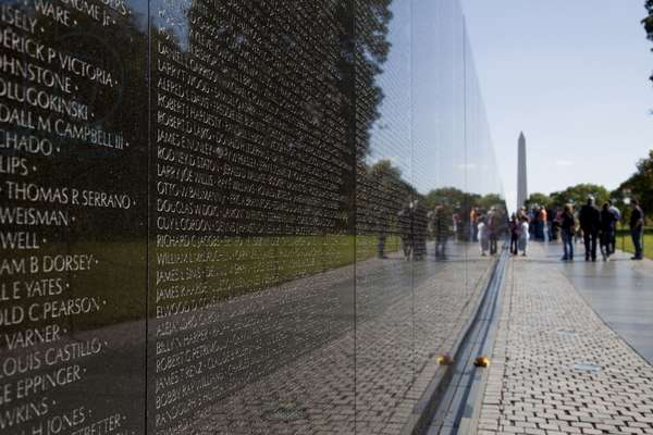 Vietnam War Memorial (photo)