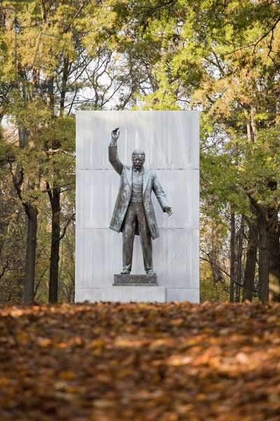 The Theodore Roosevelt Monument on Roosevelt Island (photo)