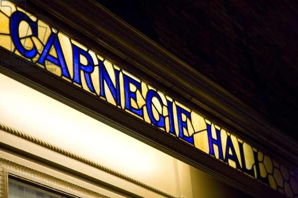 Carnegie Hall (photo)