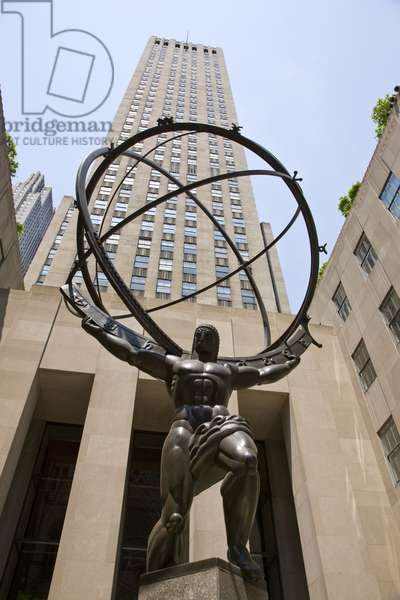 Statue of Atlas, Rockefeller Center (photo)