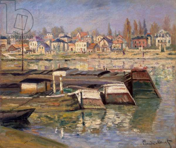 Seine at Asnieres, 1873 (oil on canvas)