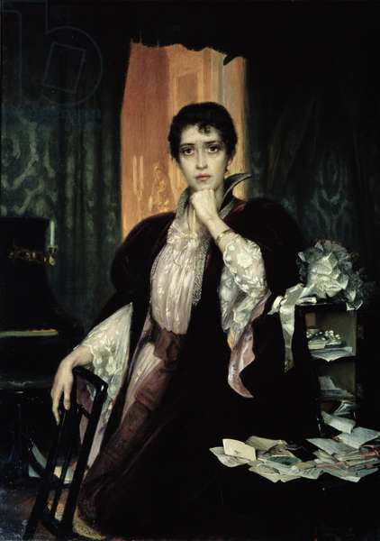 Anna Karenina, 1904 (oil on canvas)