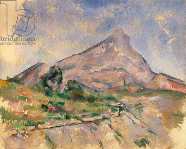Mont Sainte-Victoire, 1897-98 (oil on canvas)