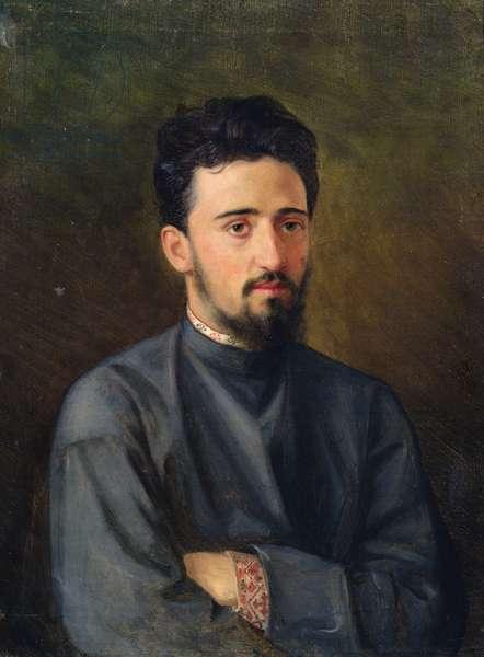 Portrait of Vsevolod M. Garshin, 1878 (oil on canvas)