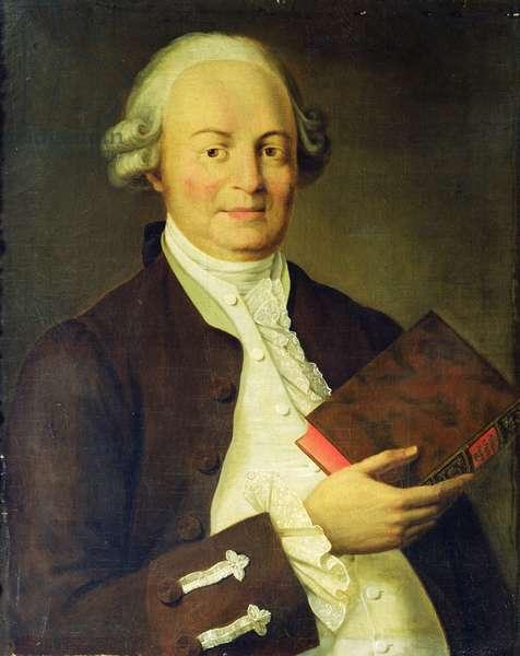 Portrait of Vasili K. Trediakovsky (oil on canvas)