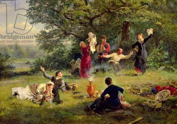 Sunday, 1884 (oil on canvas)