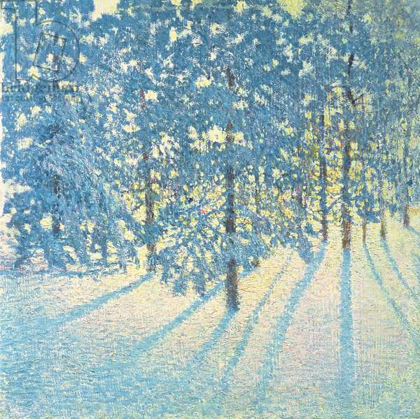 Winter Morning, 1907 (oil on canvas)