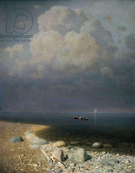 Lake Ladoga, 1873 (oil on canvas)
