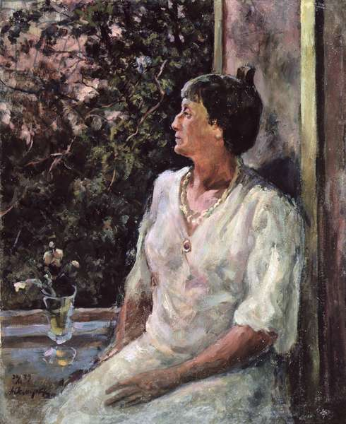Portrait of Anna Akhmatova, c.1939 (oil on canvas)