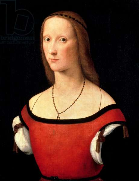 Portrait of a Woman, 1500s (oil on canvas)