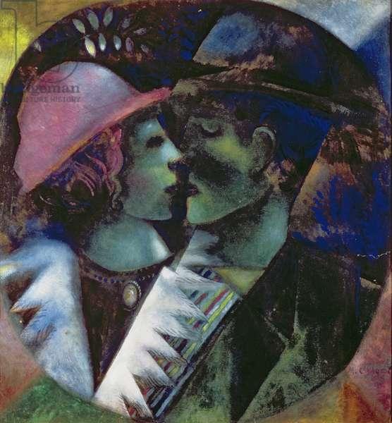 Lovers in Green, 1914