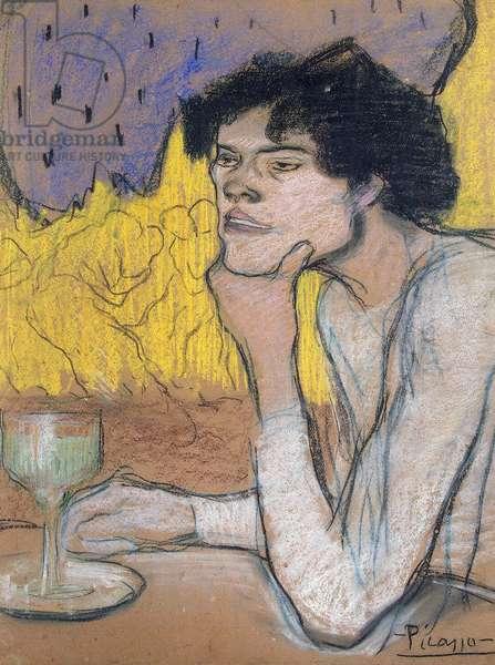 Absinthe, 1901 (gouache & pastel on paper)