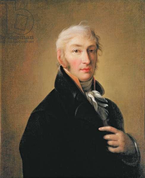 Portrait of Nikolay Mikhaylovich Karamzin (1766-1826), 1805 (oil on canvas)
