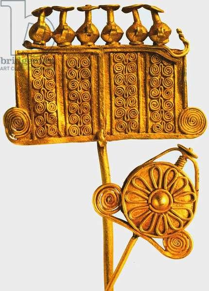 Fibula, Priam's Treasure (gold)
