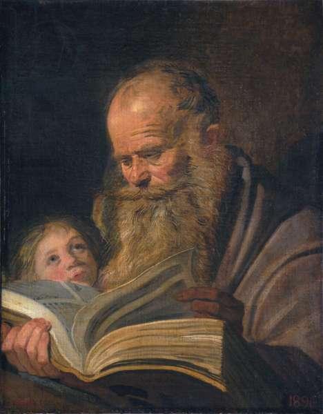 Saint Matthew, c.1625 (oil on canvas)