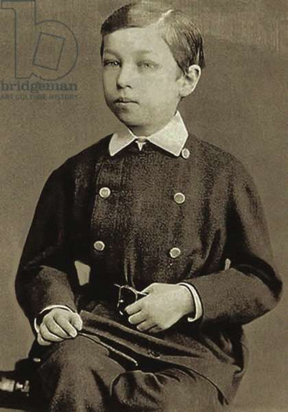 Kandinsky as a child (b/w photo)