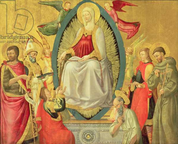 Ascension of the Virgin, 1465 (egg tempera and gold on panel)