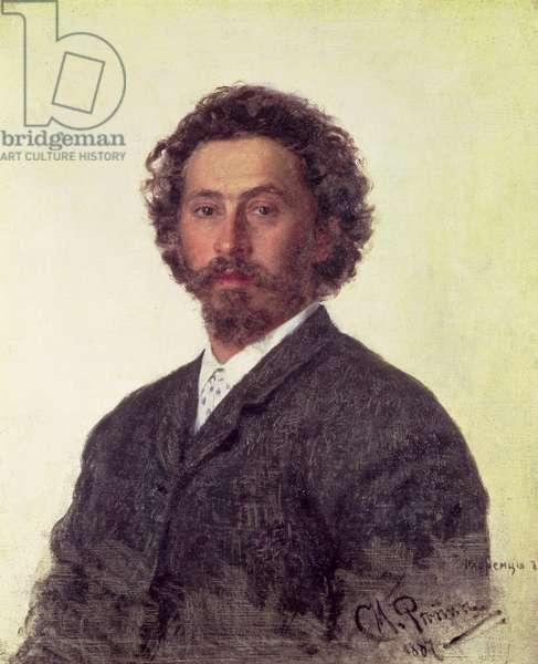 Self Portrait, 1887 (oil on canvas)