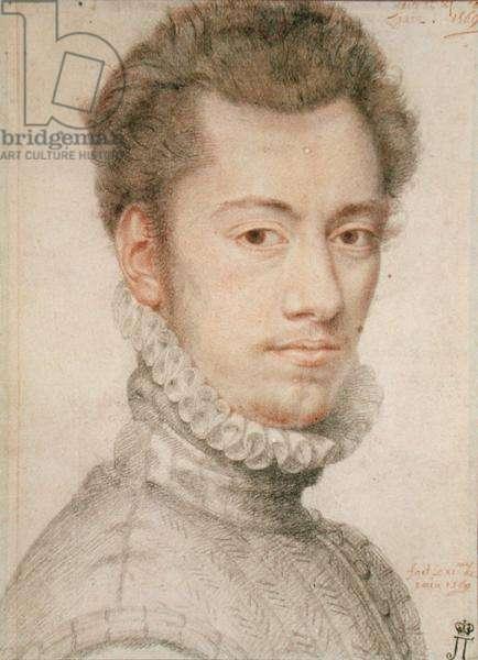 Etienne Dumonstier (1540-1603), c.1570 (pencil on paper)