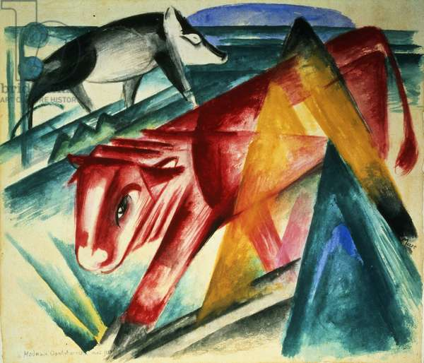 Animals, 1913 (w/c on paper)