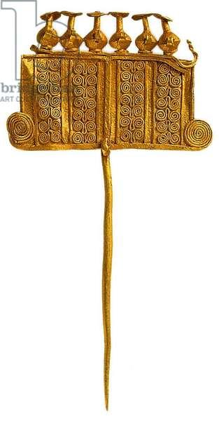 Decorative Pin, Priam's Treasure (gold)