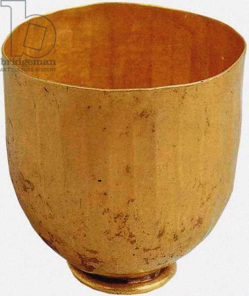 Small fluted beaker, Priam's Treasure (gold)