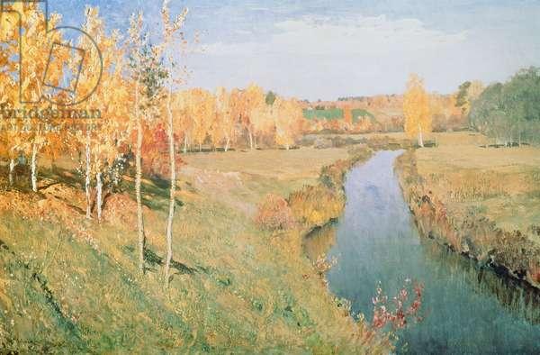 Golden Autumn, 1895 (oil on canvas)