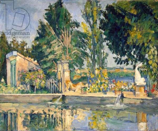 Jas de Bouffan, the pool, c.1876 (oil on canvas)