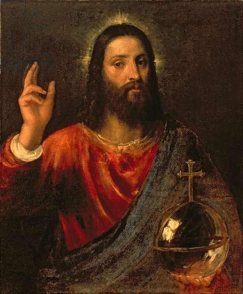 Christ Saviour, c.1570 (oil on canvas)
