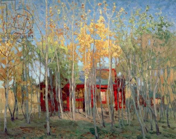 Golden Autumn, 1901 (oil on canvas)