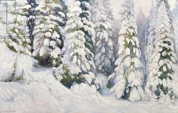 Winter Tale, 1913 (oil on canvas)