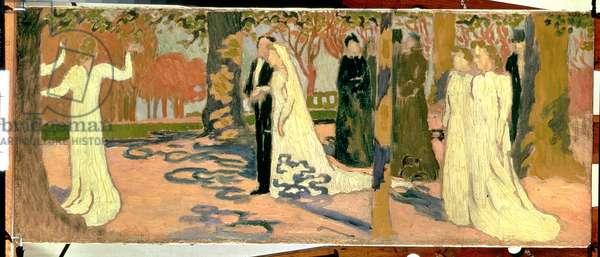 Wedding Procession, c.1892-93 (oil on canvas)