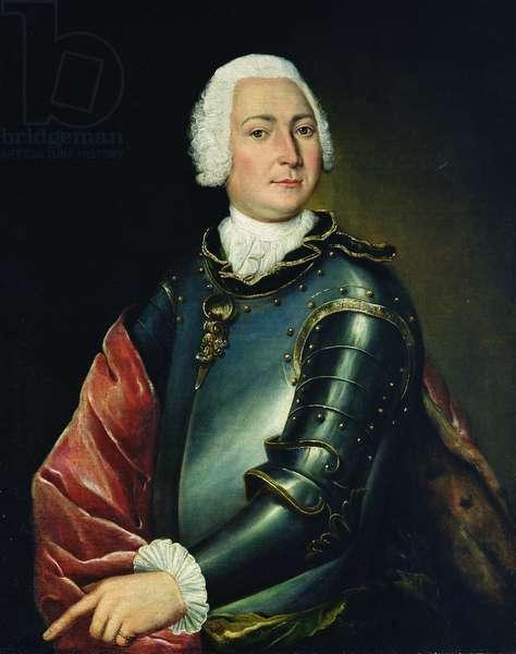Portrait of Count Ernst Christoph von Manteuffel (oil on canvas)