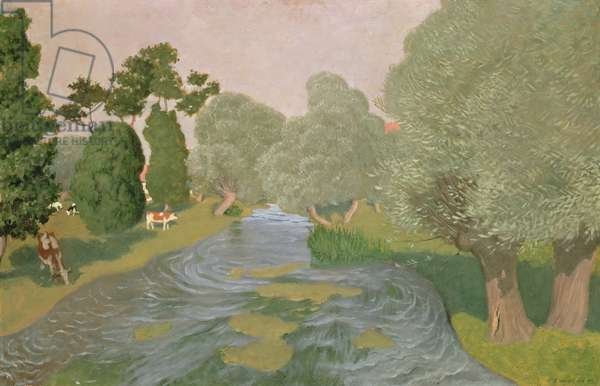 Normandy Landscape, 1903 (oil on canvas)