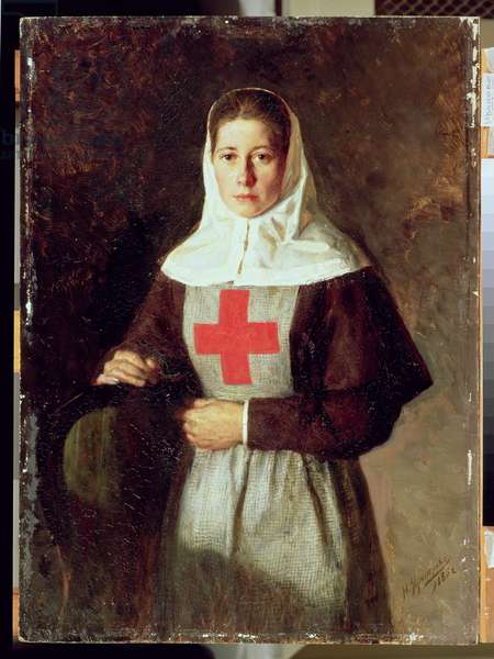 A Nurse, 1886 (oil on canvas)