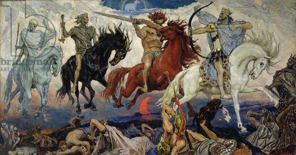 The Four Horsemen of the Apocalypse, 1887 (oil on canvas)