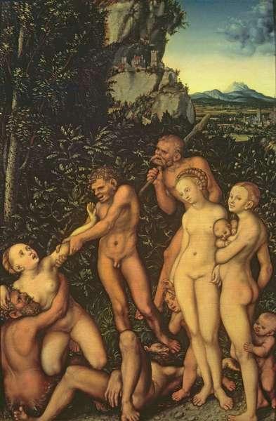 Fruits of Jealousy, 1530 (oil on wood)