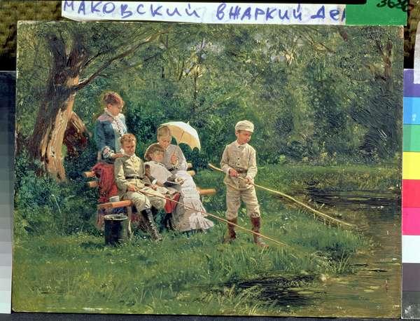 Midday Sun, 1881 (oil on canvas)