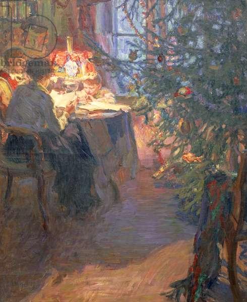 Christmas Tree, 1921 (oil on canvas)