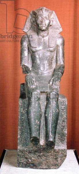 Statue of Amenemhat III (diorite gneiss)