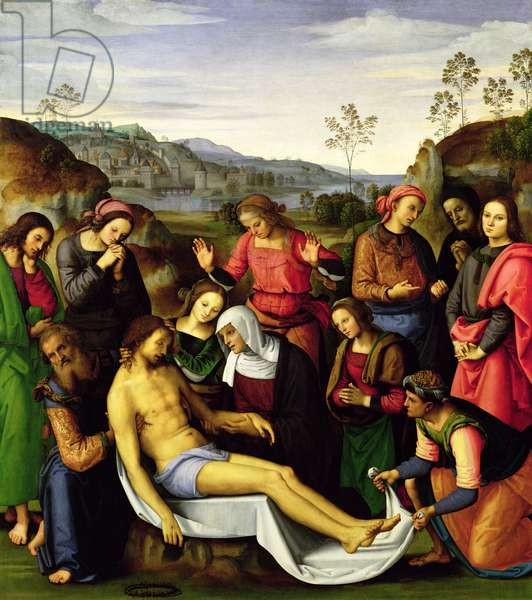 The Lamentation of Christ, 1495 (oil on panel)