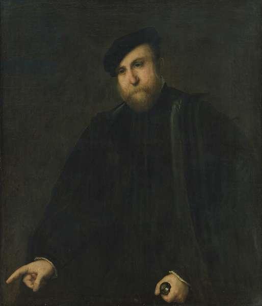 Portrait of a Gentleman, 1540s (oil on canvas)