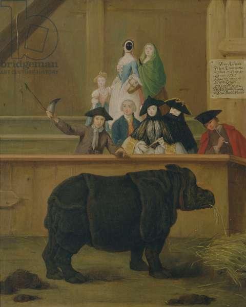 The Rhinoceros, 1751 (oil on canvas)