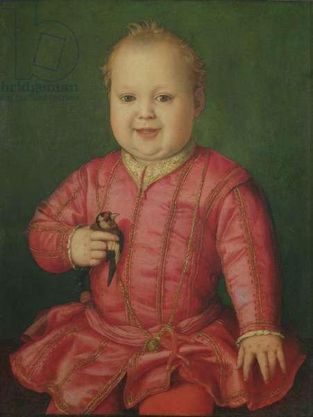 Portrait of Giovanni de' Medici as a child, c.1545 (tempera on panel)