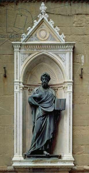 St. Matthew, 1419-23 (marble & bronze)